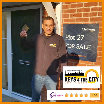 Paul Murphy Trusted West Bromwich Locksmith
